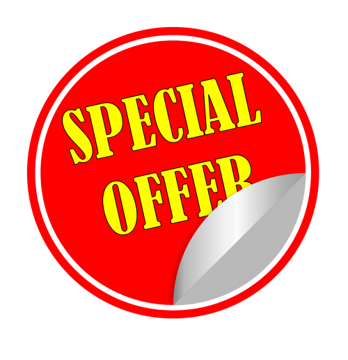 special offer sticker price