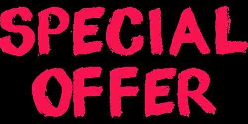 special offer bargain advertising