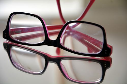spectacles glasses reflection