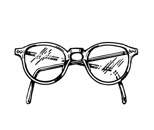 Spectacles Clipart Illustration