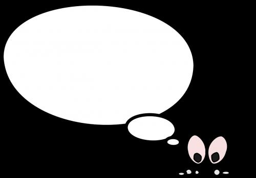 speech balloon talking
