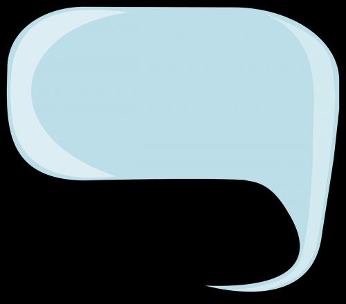 speech balloon text