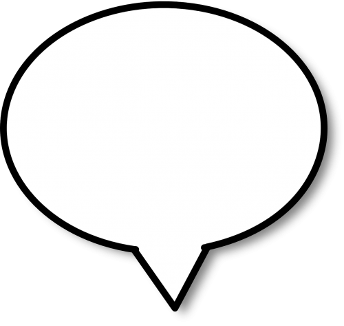 speech bubble speech balloon balloon