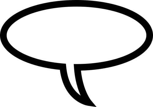 speech bubble bubble speaking