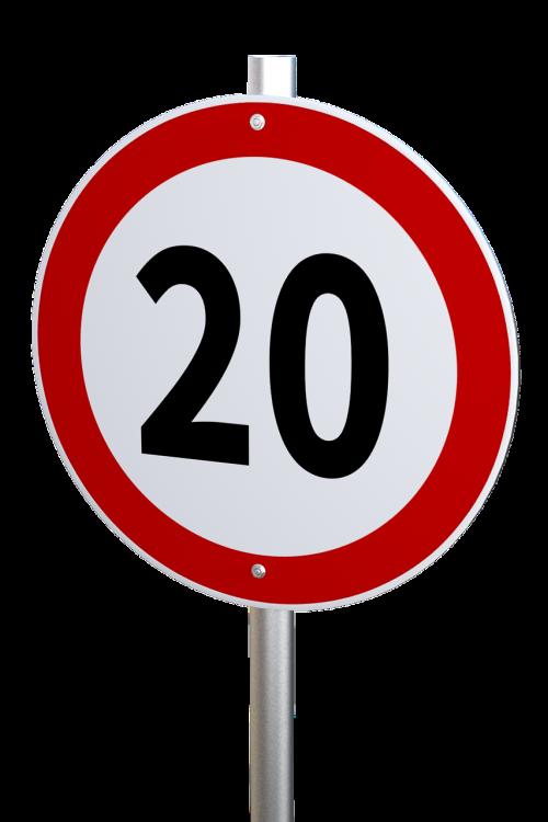 speed limit traffic sign restriction