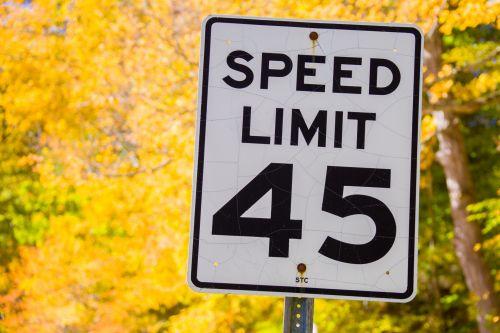 Speed Limit 45