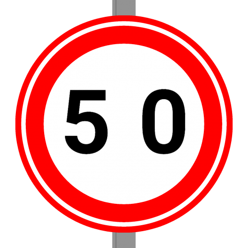 speed sign dutch sign