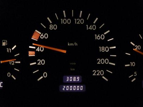 speedo speedometer mileage