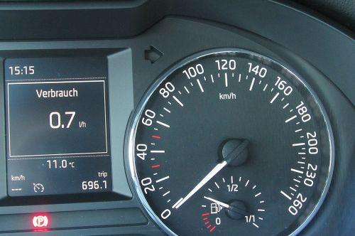 speedo speed kilometer display