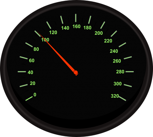 speedometer tachometer automobile