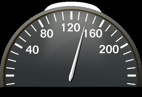 speedometer kilometers dashboard