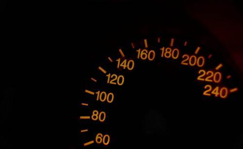 speedometer the figures on the speedometer speed