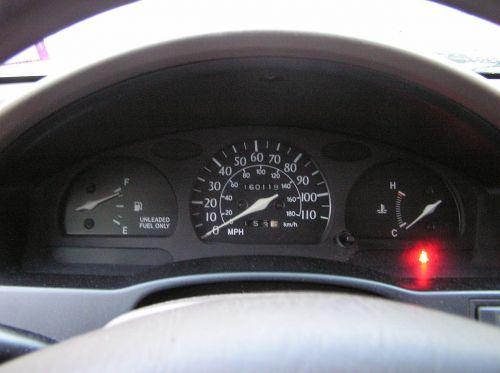 speedometer fuel guage fuel full