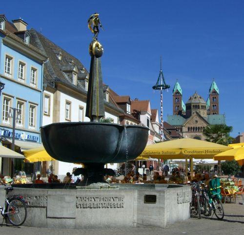 speyer george wells soldier fountain