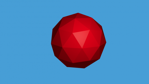 sphere shape 3d