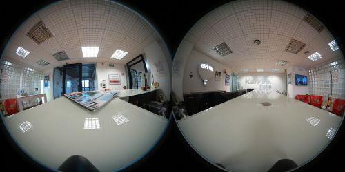 spherical 360 degree photo office desk