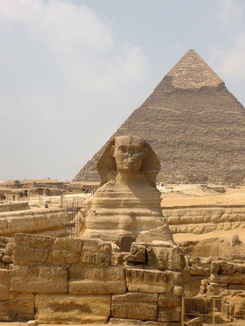 Sfinksas,piramidė,Egiptas,gizeh,statula,liūto figūra,meno kūriniai,istoriškai