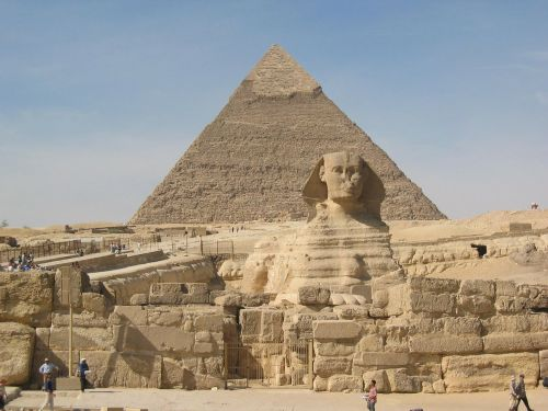 sphinx pyramids cheops