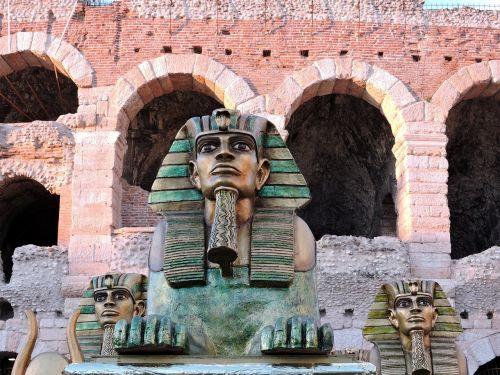 sphinx arena monument