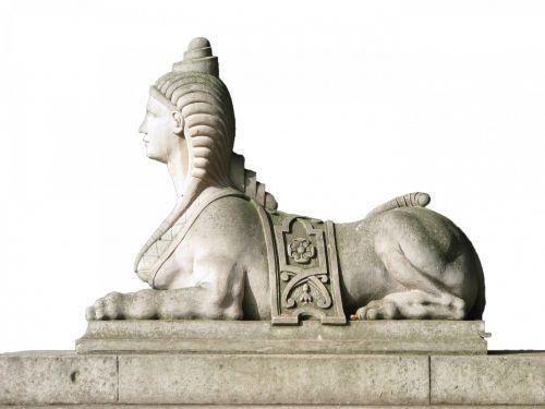 Sphinx Statue