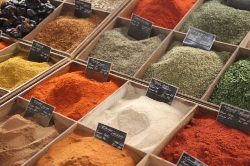 spice food color
