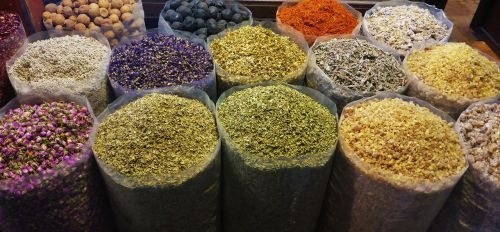spices colorful color