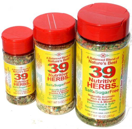 spices blend nutritive