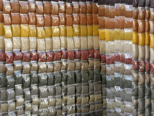 spices egypt colors