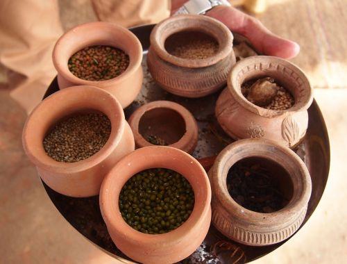 spices homemade pot