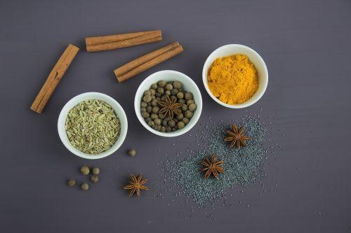 spices ingredients seasoning