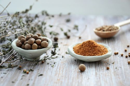 spices ingredients aroma