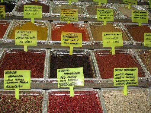 spices aroma odor
