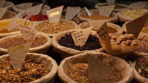 spices market food