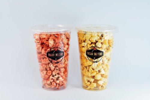 spicy  flavor  popcorn