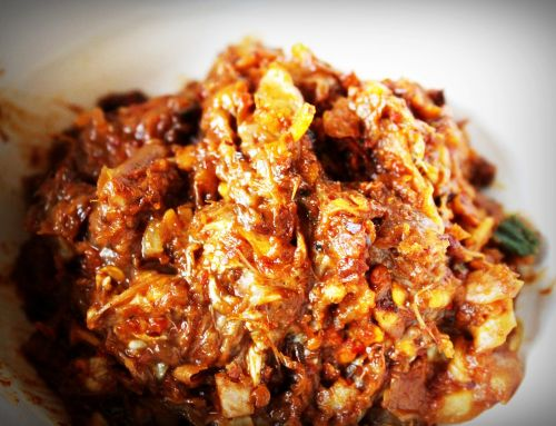 spicy chili paste nam prik thai cuisine