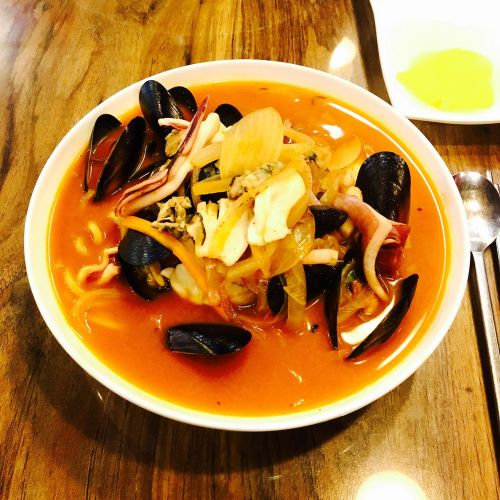 spicy seafood mussels seafood