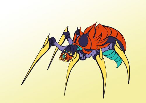 spider insect monster