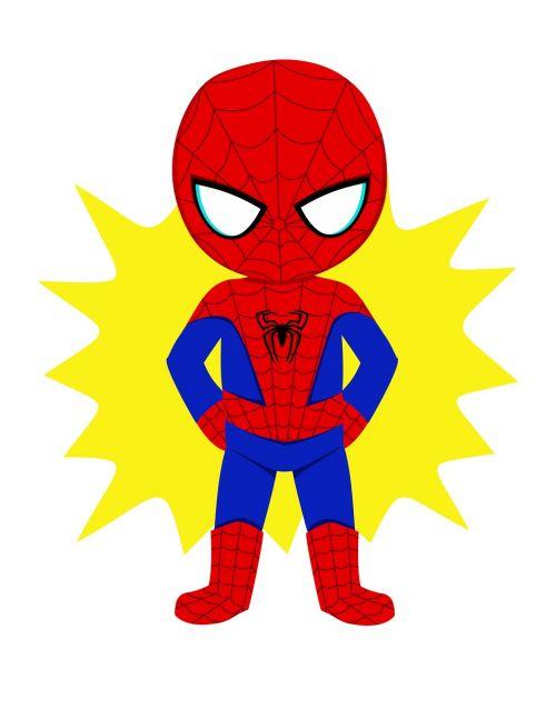 spiderman kid hero superhero