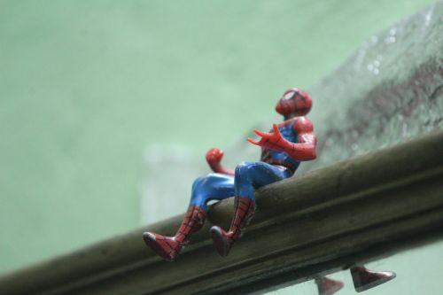spiderman toy heroes