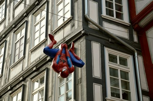 spiderman cartoon character truss