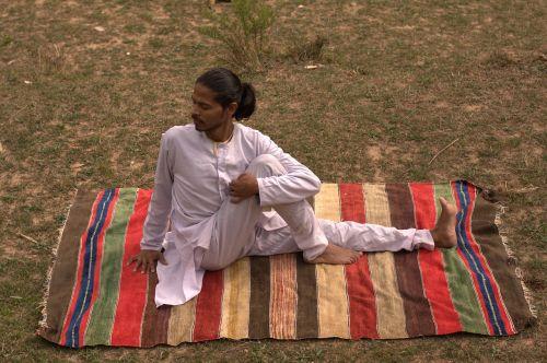 spine twist pose yoga yogi