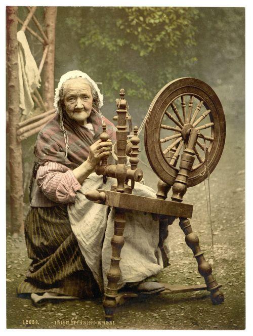 spinner irish spinner woman