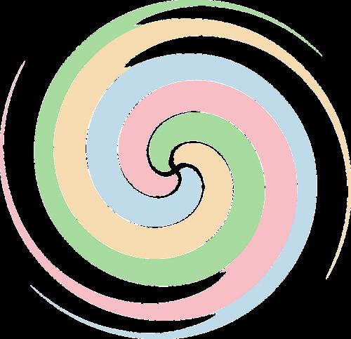 spiral swirl strudel