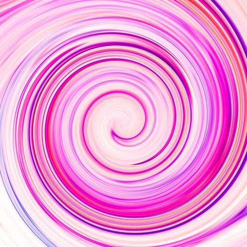 spiral line rotate