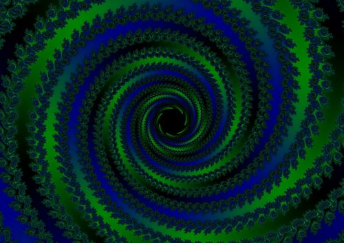 spiral strudel black hole