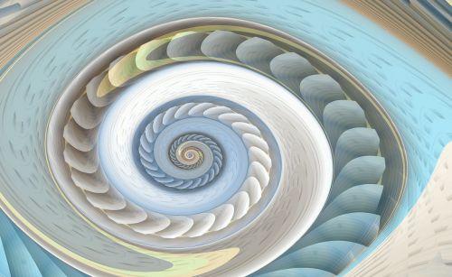 spiral fractal swirl
