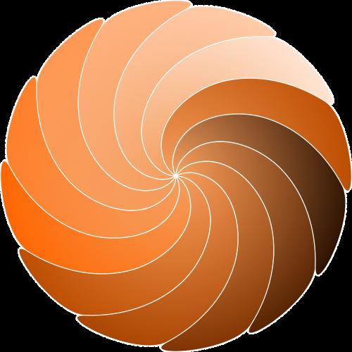 spiral circle swirl