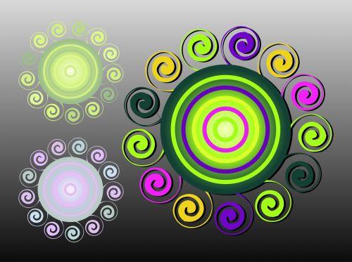Spiral Circles