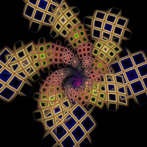 Spiral Of Squares