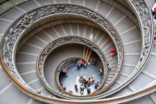 spiral staircase stairs architecture